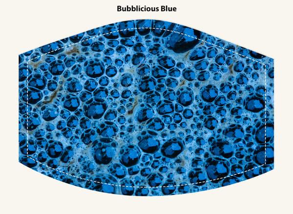 Bubbilicious Blue Face Mask