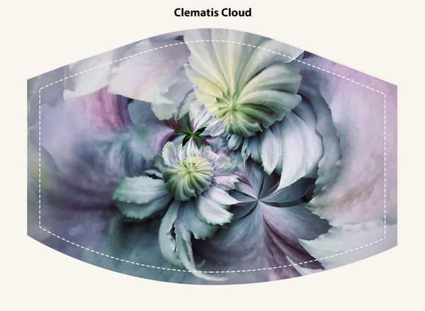 Clematis Cloud Face Mask