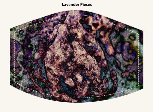 Lavender Pieces Face Mask