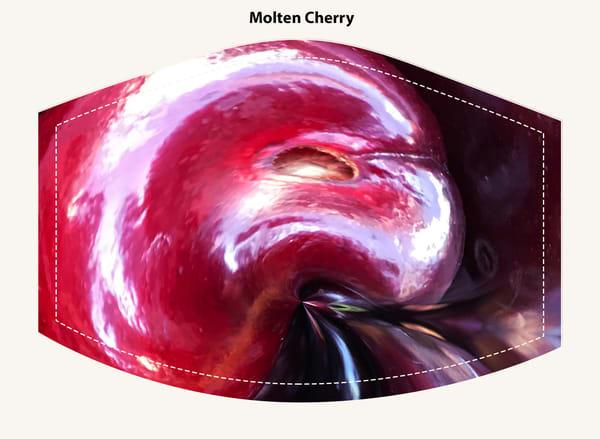 Molten Cherry Face Mask