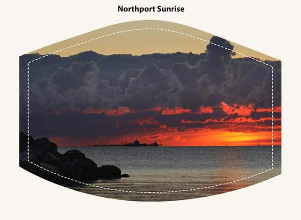 Northport Sunrise Face Mask