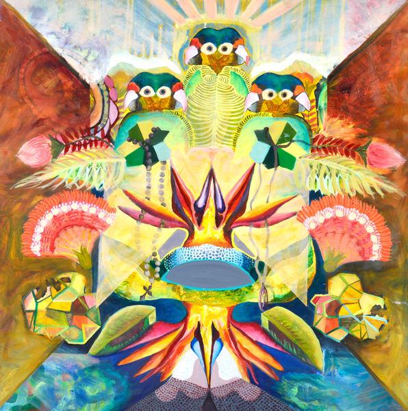 Birds Of Paradise Art | Mindbender Art