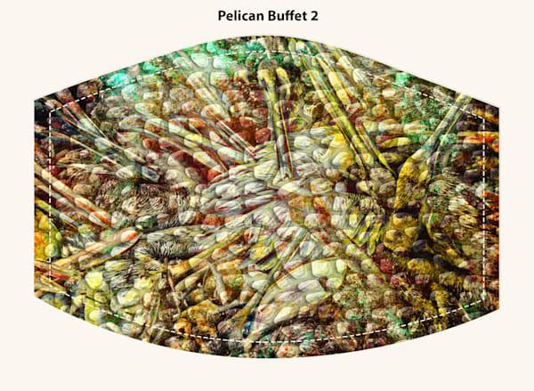 Pelican Buffet2 Face Mask