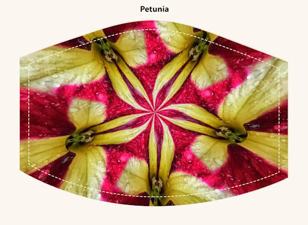 Petunia Face Mask