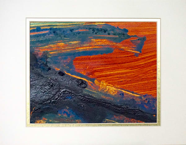 Orange Glow #1 Art | Lila Lewis Irving