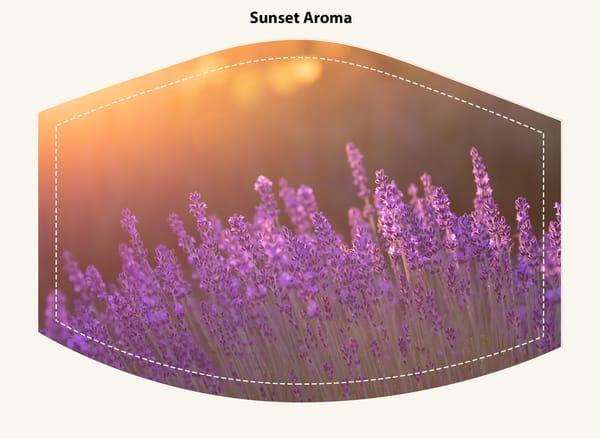 Sunset Aroma Face Mask