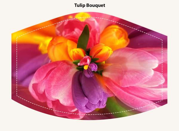 Tulip Bouquet Face Mask