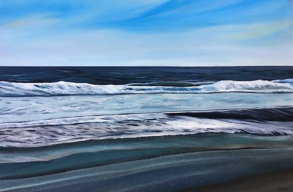 Deep Blue Ocean Art | Emily Gilman Beezley