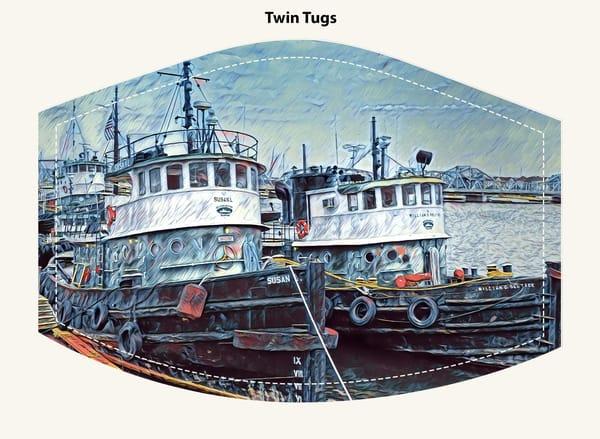 Twin Tugs Face Mask