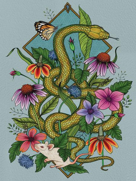 Snake & Mouse Art | Kyle Creative