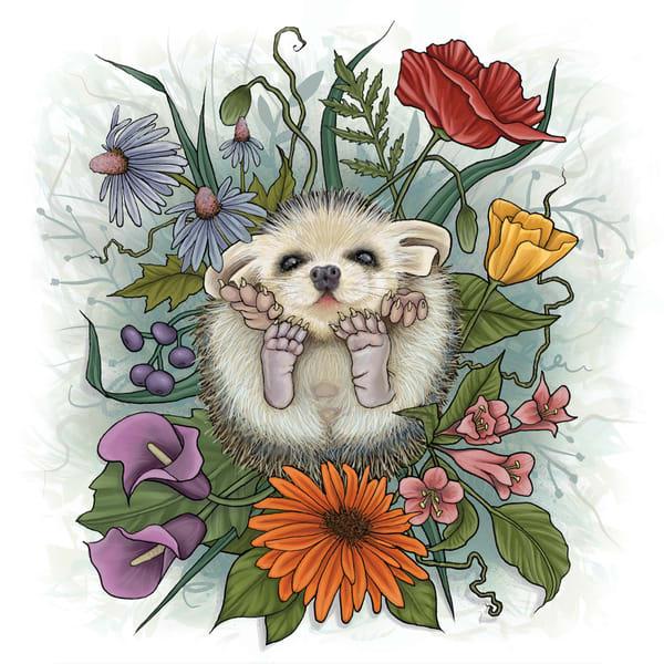 Hedgehog 01 Art | Kyle Creative