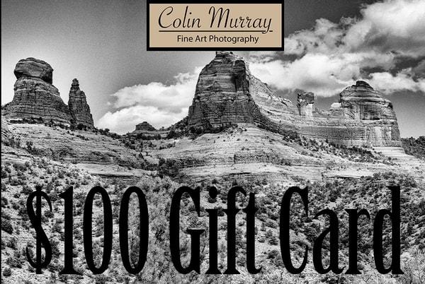 $100 Gift Card   Colin Murray Photography LLC