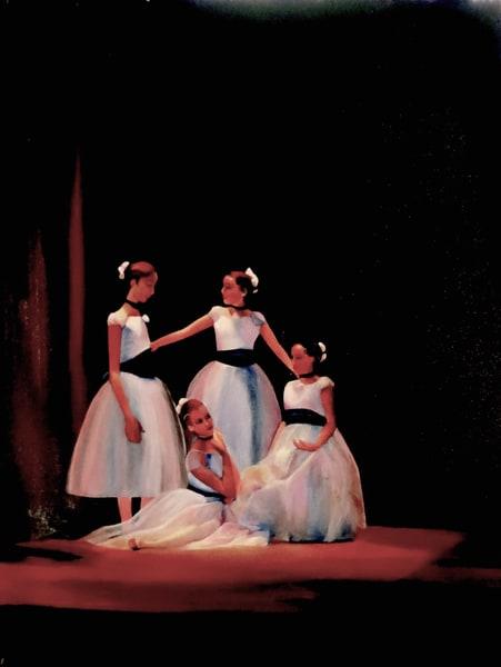Blue Dancers Art | Emily Gilman Beezley LLC