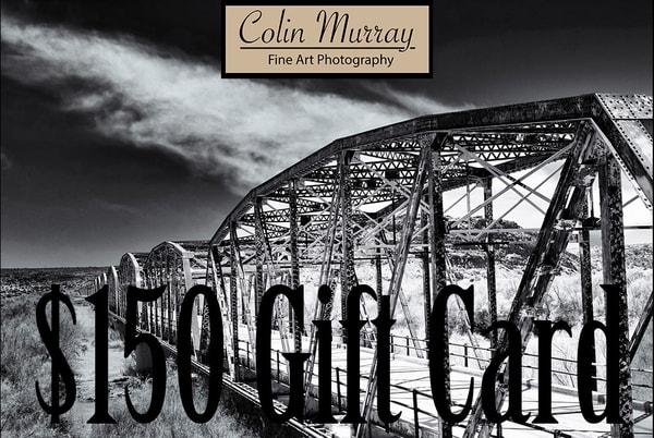 $150 Gift Card   Colin Murray Photography LLC