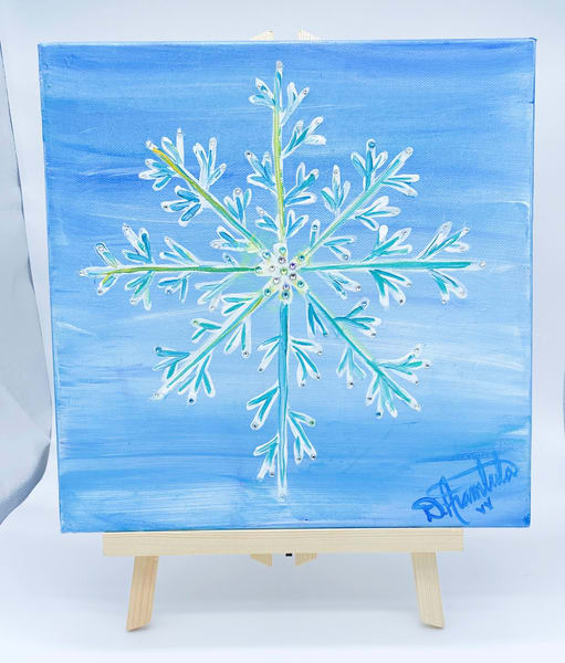 The First Snow Flake  Art | Heartworks Studio Inc