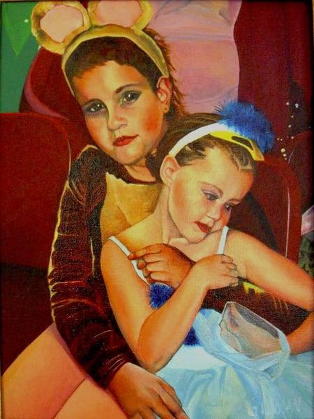 Honey Bear And Blue Bird Art | Emily Gilman Beezley LLC