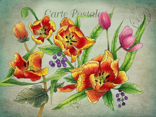 Floral 03 Vintage Art | Kyle Creative