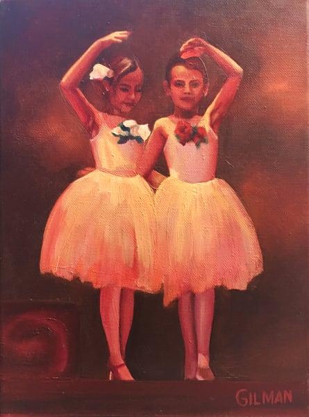 Rose White And Rose Red Art | Emily Gilman Beezley LLC