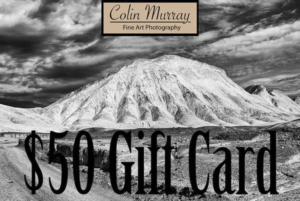 $50 Gift Card   Colin Murray Photography LLC