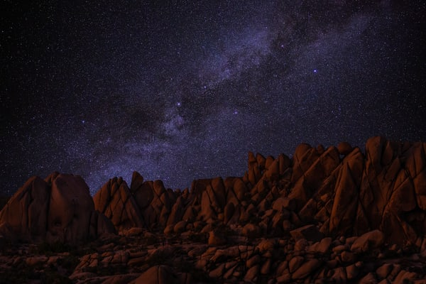 Desert Starglow Photography Art | Josh Kimball Photography