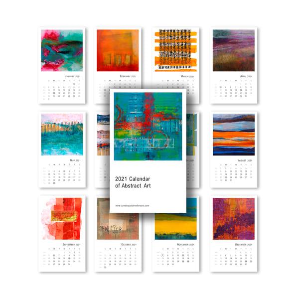 2021 Tabletop Calendar Pages | Cynthia Coldren Fine Art