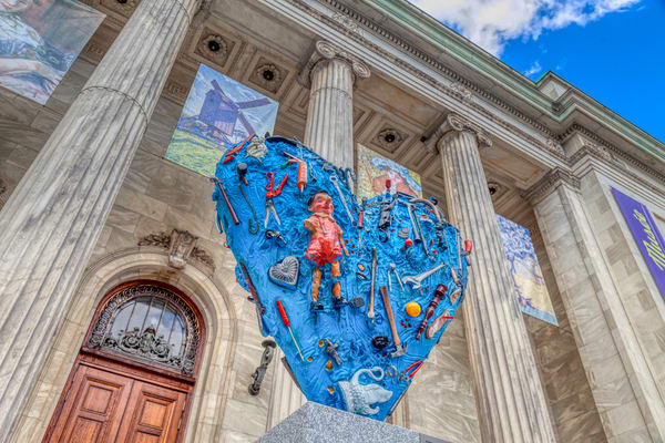 Montreal's Blue Heart - Prints