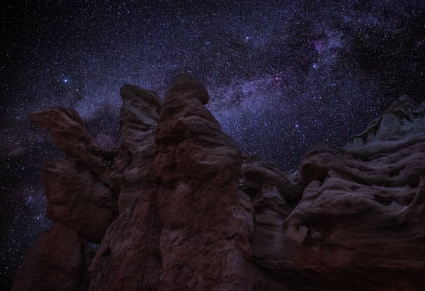 Faces Of Starnight Photography Art | Josh Kimball Photography