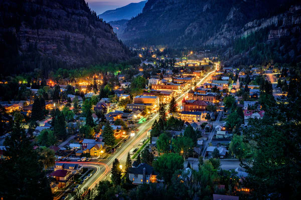 Evening in Ouray | Shop Photography by Rick Berk