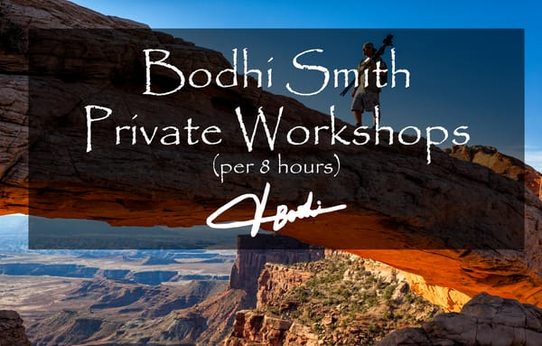 Private Workshop With Bodhi (8 Hours) | bodhi smith photography
