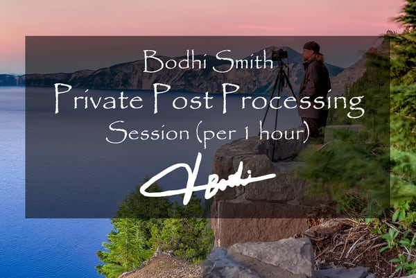 Post Processing Lesson (Via Zoom) 1 Hour | bodhi smith photography