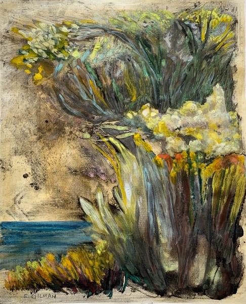 Sold: Yellow By The Sea Art | Emily Gilman Beezley LLC