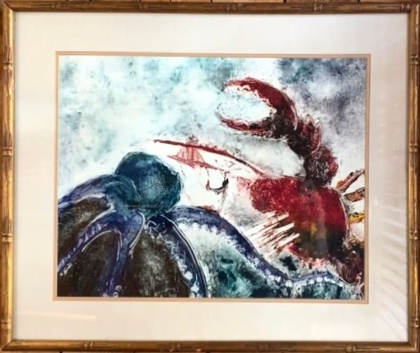Octopus And Lobster Art | Emily Gilman Beezley