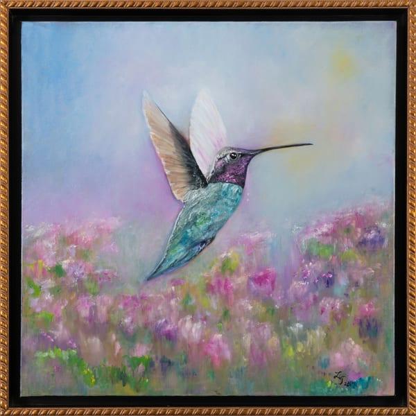 Impressionistic Yet Realistic Dream Flight Framed Oil Painting Original