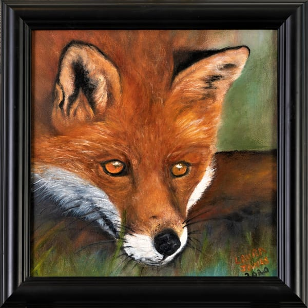 Intriguing I Spy Realistic Oil Painting Original