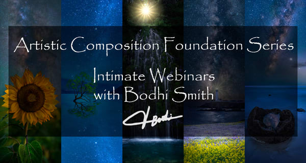 Webinar Artistic Composition Foundation Series: Leading Lines | bodhi smith photography