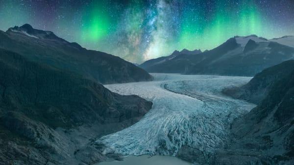Auroras Over Alaska Photography Art | Austin Marvel