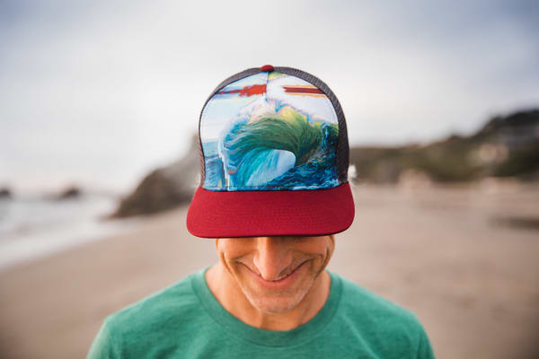 Trucker Hats featuring the Art of Spencer Reynolds