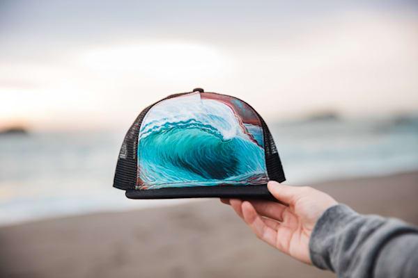 Spillover Trucker Hat by Spencer Reynolds
