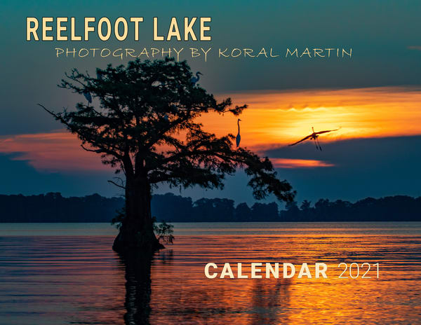 Reelfoot Lake 2021 Calendar | Koral Martin Fine Art Photography