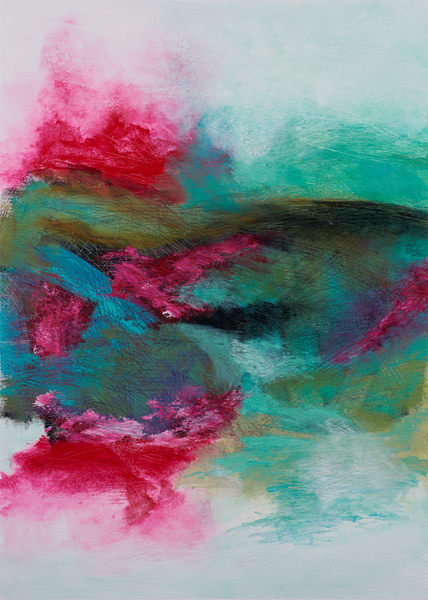 Storm Water Rush – Original Abstract Painting & Prints | Cynthia Coldren Fine Art