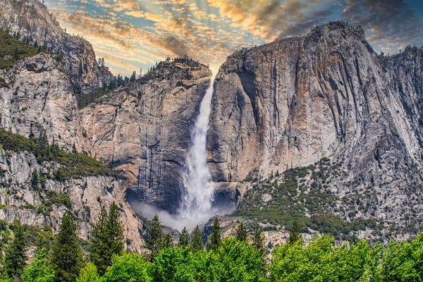 Yosemite Falls Photography Art | Austin Marvel