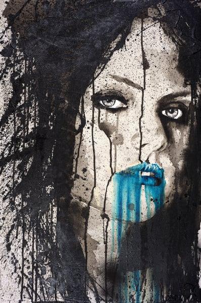 Blue Alien Art | Asaph Maurer