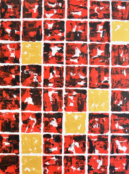 Red And Gold Art | Asaph Maurer