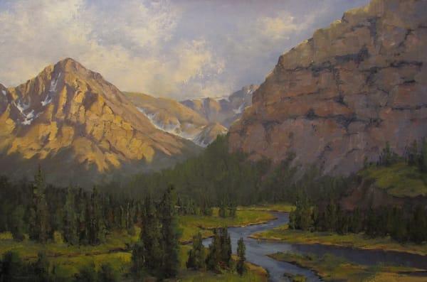 Glacier's Grandeur Art | Artisanjefflove