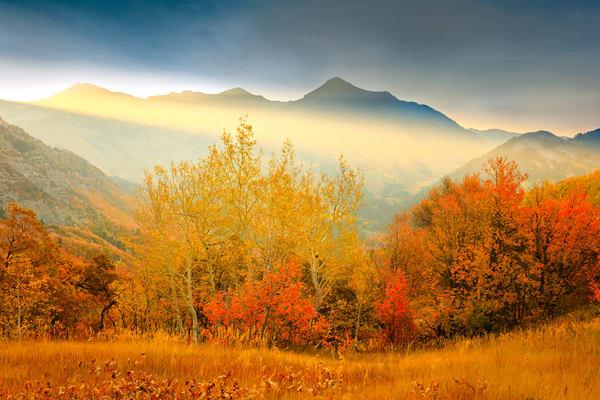 provo peak golden rays