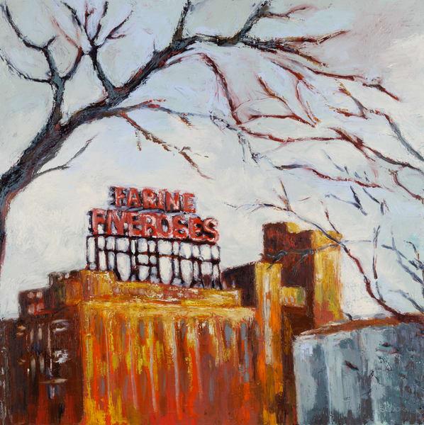 Dawn on Five Roses - Original