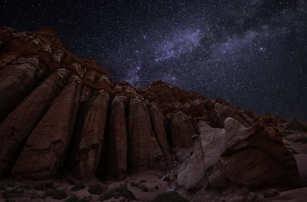 Towering Night Photography Art | Josh Kimball Photography