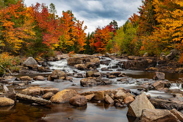 Fall On The River  Photography Art   Nelson Rudiak Photography