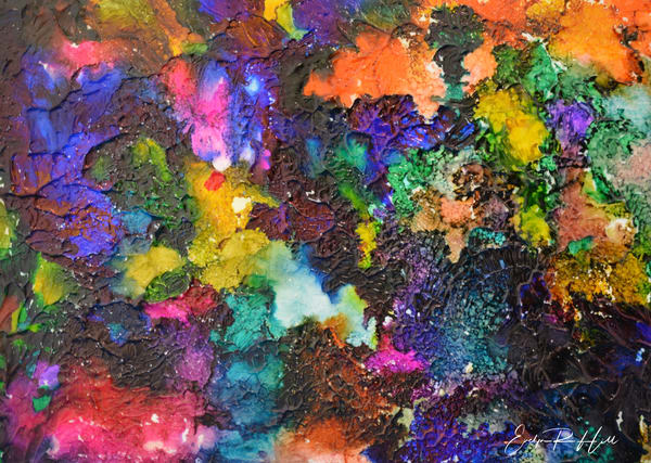 Color On Crack Photography Art   Thistle-Dhu