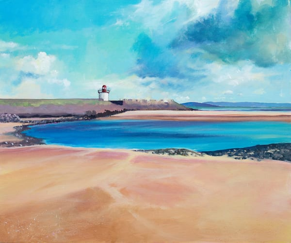 Burry Port Art Print/Denise Di Battista